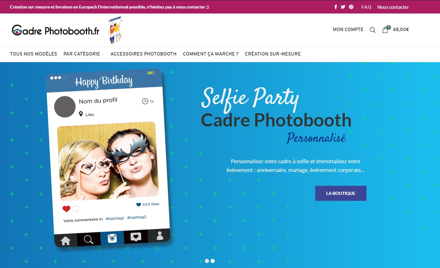 site-e-commerce-cadre-photobooth