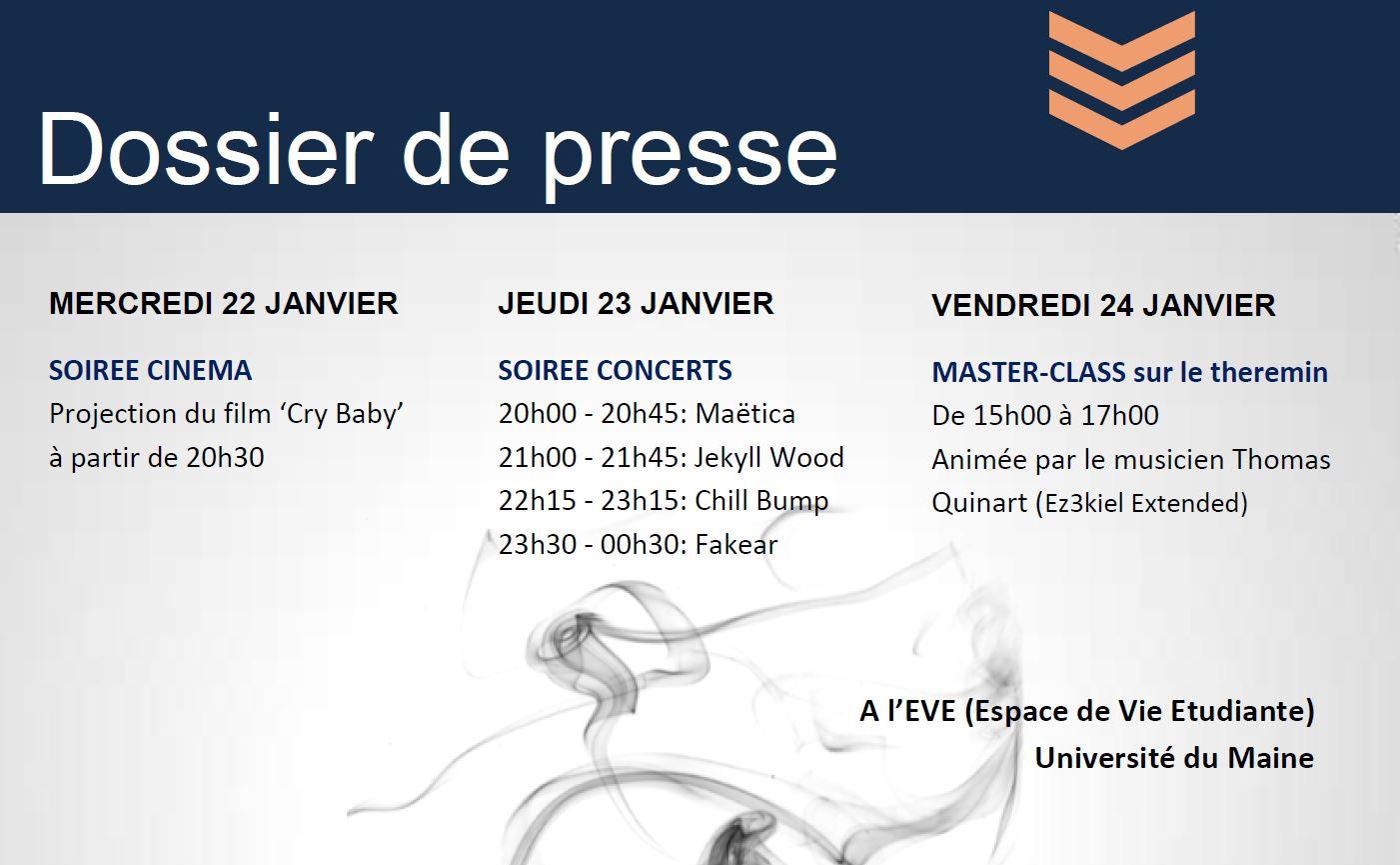 Dossier de presse – Festival Electrik Campus 2014